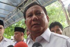 Prabowo: Tidak Boleh Jemawa, Hanya Kami Sudah Bisa Rasakan Arus Angin
