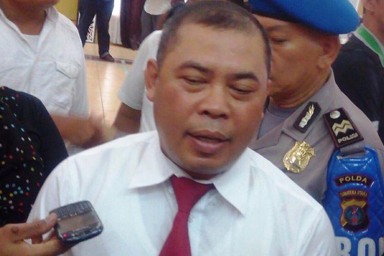 Dirreskrimum Polda Sumut Kombes Pol Nurfallah, Senin (17/4/2017)