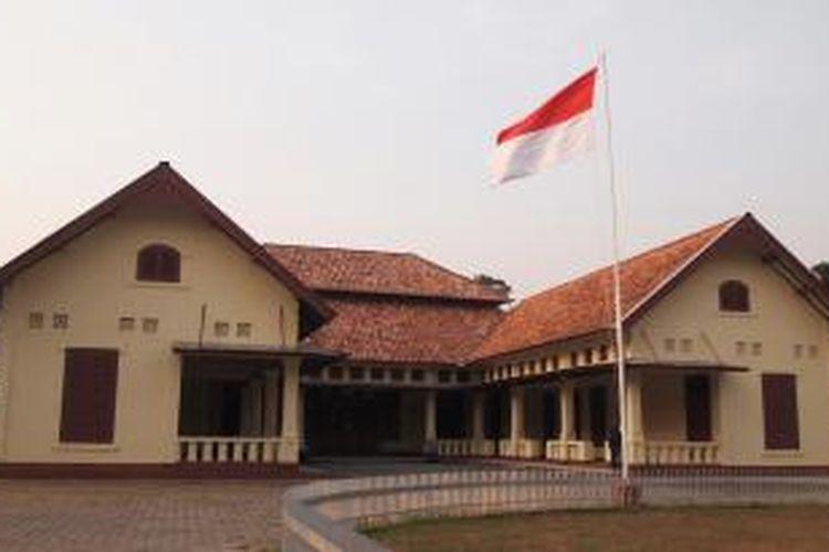 Wisma Ranggam di Kota Muntok, Kabupaten Bangka Barat pernah menjadi tempat pengasingan Presiden Soekarno di era Agresi Militer II