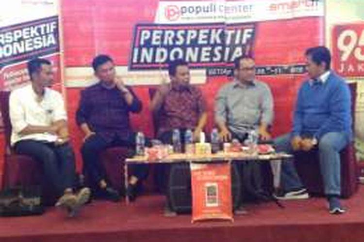 Diskusi RUU Pemilu Populi Center