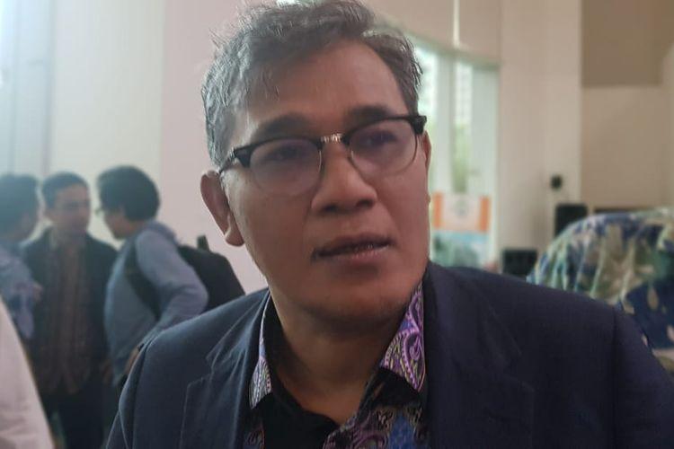 Politisi PDI-P Budiman Sudjatmiko saat ditemui di kawasan Karet, Jakarta Pusat, Jumat (7/2/2020).