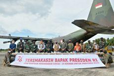 Pakai Pesawat Hercules, Jokowi Kirim Oksigen Konsentrator dan Obat-obatan ke Riau
