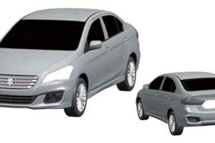 Suzuki Ciaz mulai menunjukkan wujud produksi massalnya di China.