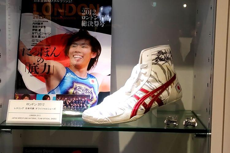 Sepatu gulat yang dipakai tim Jepang di Olimpiade London 2012