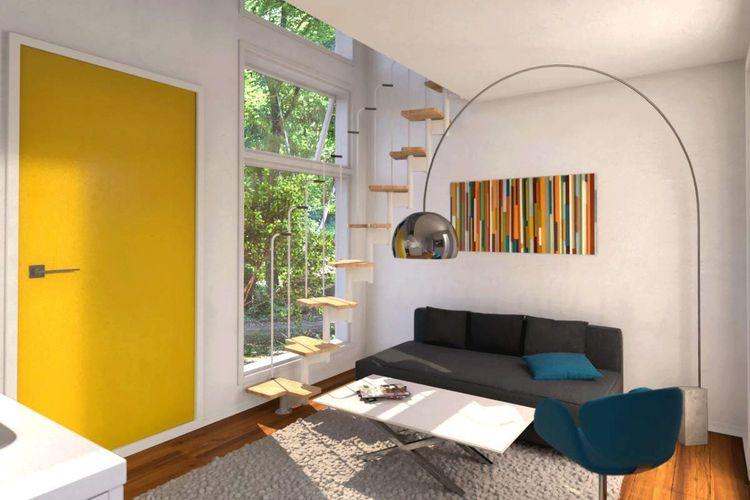 Ilustrasi rumah mungil Cube yang dijual di Amazon.