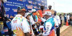 PON XX, Pebalap Papua Raih 3 Emas di Road Race, Gubernur Enembe: Ini berkat Doa Bersama
