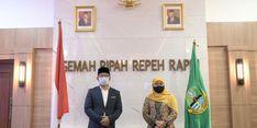 Diminta Khofifah Desain Masjid di Surabaya, Kang Emil: Alhamdulillah, Jadi Ladang Ibadah