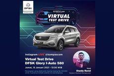 Kupas Tuntas DFSK Glory i-Auto di Virtual Test Drive