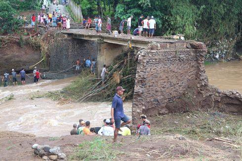Daftar Wilayah Indonesia Siaga dan Waspada Banjir Bandang 2 Hari ke Depan