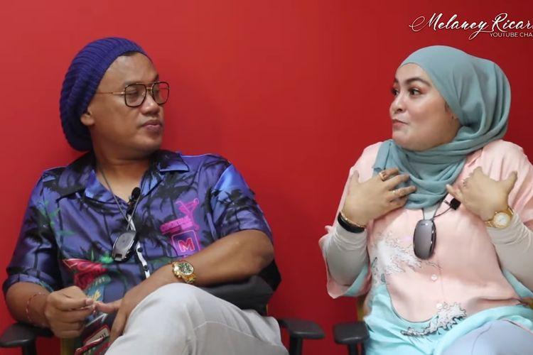 Uya Kuya dan istrinya, Astrid Khairunisha