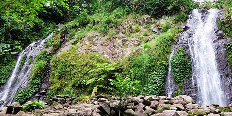 Air Terjun Pengantin, Air Terjun Kembar di Ngawi, Jawa Timur