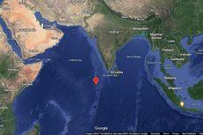 Puing Roket China Lewati Semenanjung Arab sebelum Jatuh di Dekat Maladewa