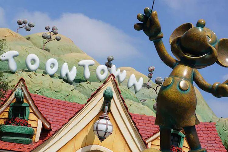 Salah satu wahana di Disneyland Amerika Serikat