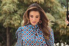 Ratu Rania dari Yordania Tampil Cantik