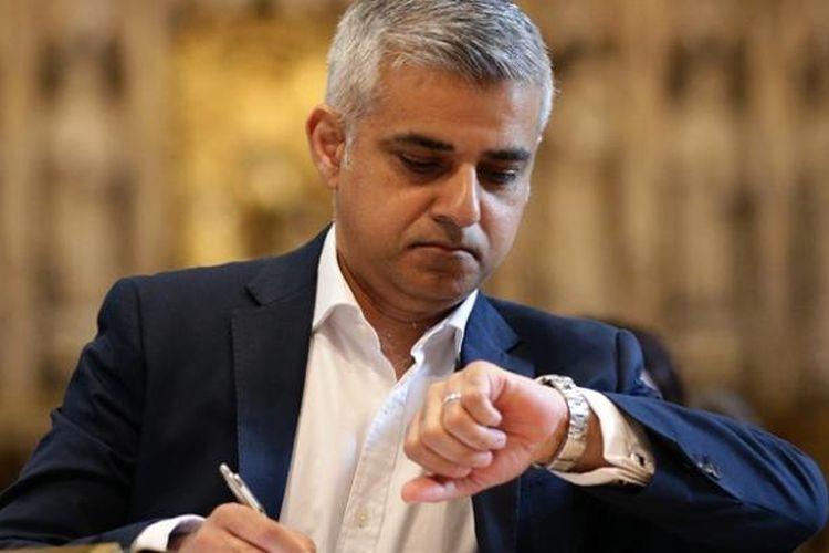 Wali kota London, Sadiq Khan.