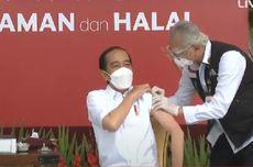 Vaksinasi Pertama dan Doa Untuk Presiden Jokowi...