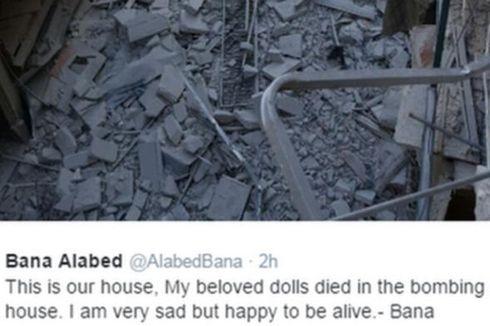 Kisah Bana, Bocah Aleppo yang Unggah Foto Rumahnya yang Hancur Dibom