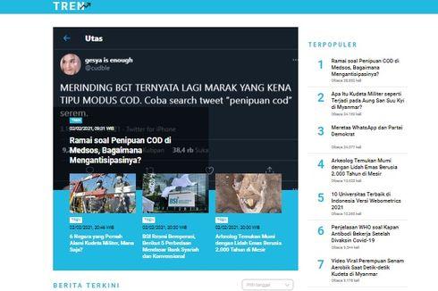 [POPULER TREN] Cara Antisipasi Penipuan COD | 10 Universitas Terbaik di Indonesia 2021