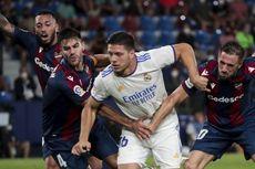 Hasil Levante Vs Madrid, Drama 6 Gol dan 1 Kartu Merah Berakhir Imbang