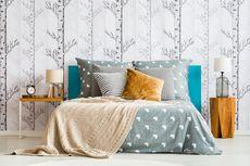 Ingin Pasang Wallpaper di Kamar Tidur? Ini 6 Ide yang Bisa Ditiru