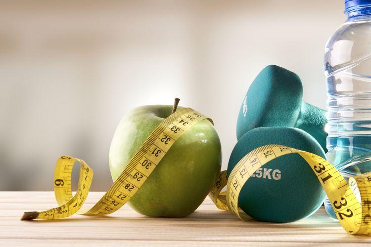 Ilustrasi diet