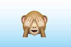 Apa Arti Emoji Monyet Menutup Mata?