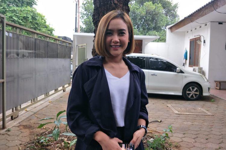 Cita Citata saat ditemui di kawasan Pesanggrahan, Jakarta Selatan, Selasa (8/10/201.
