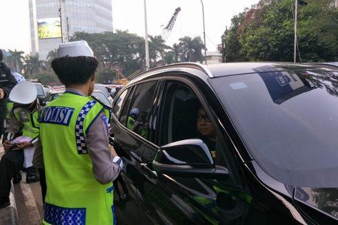 Mulai 9 September, Polisi Tilang Pelanggar Perluasan Ganjil Genap