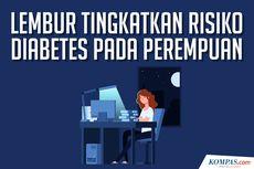INFOGRAFIK: Untuk Para Perempuan, Lembur Bisa Picu Diabetes