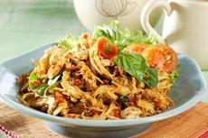 Resep Kering Ayam Suwir Pedas, Simpan untuk Stok Lauk Sahur