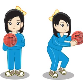Memegang bola basket