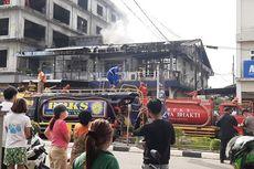 3 Ruko di Singkawang Terbakar, Pasutri Lansia Dilaporkan Tewas