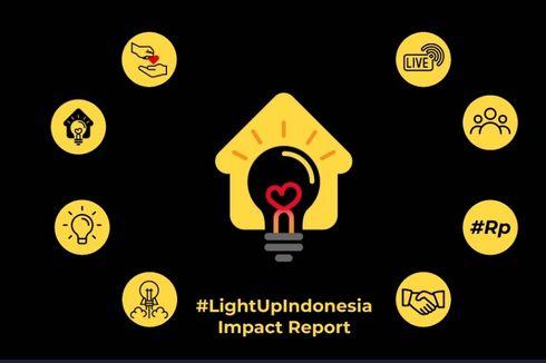 Light Up Indonesia, 100.077 Keluarga Prasejahtera Terima Donasi Listrik