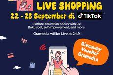 Gramedia Gelar Kampanye Live Shopping Besar-besaran di TikTok
