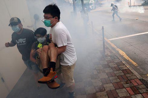 Hong Kong Kembali Dilanda Demonstrasi, Polisi Tembakkan Gas Air Mata