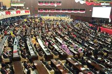 Megawati-Hamzah Haz dan SBY-Boediono Berdampingan Masuki Ruang Pelantikan