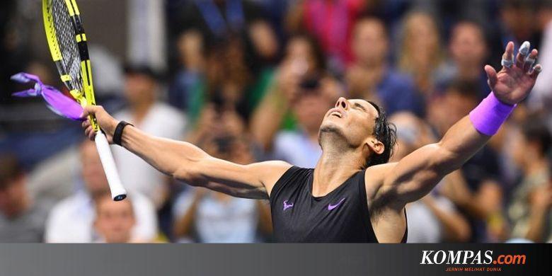 Tembus Final US Open 2019, Rafael Nadal Ditunggu Medvedev Halaman all - Kompas.com