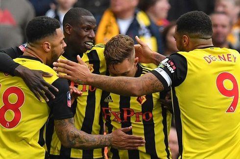 Comeback Dramatis, Watford Tantang Man City di Final Piala FA