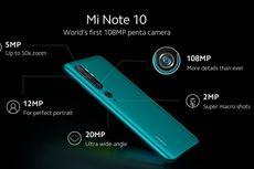 Xiaomi Mi Note 10 Resmi Dijual di Indonesia, Ini Harganya