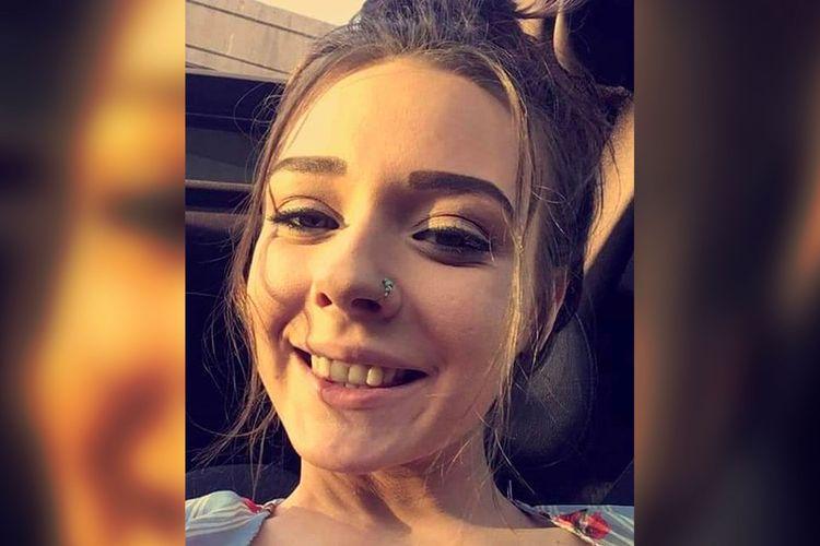 Foto Amethyst J Killian (22), ibu muda di Amerika Serikat (AS) yang ditemukan telah tewas sehari setelah dilaporkan menghilang pada Kamis (26/11/2020).
