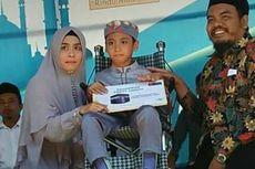 Naja, Hafiz Penderita Lumpuh Otak Dihadiahi Umroh
