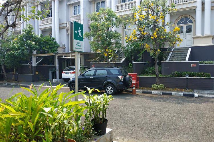 Kompleks perumahan mewah The Villas yang berdiri di atas Mall of Indonesia (MOI), Kelapa Gading, Jakarta Utara.