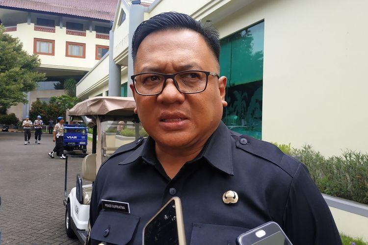 Wakil Wali Kota Depok, Pradi Supriatna ditemui wartawan di Hotel Bumi Wiyata, Depok, Jawa Barat, Kamis (13/2/2020).