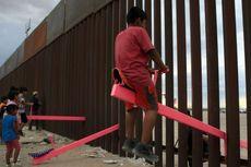 Jungkat-jungkit Pink di Tembok Perbatasan AS-Meksiko Menang Penghargaan Desain