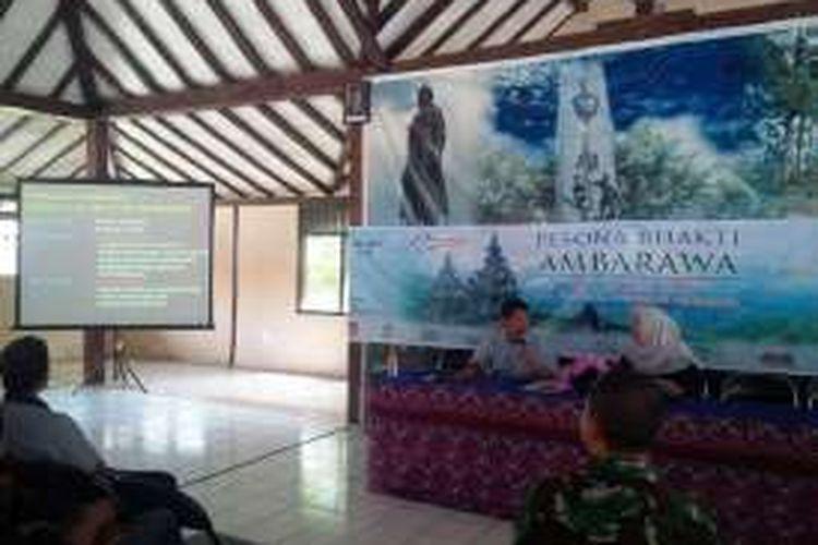 Rapat koordinasi kegiatan Pesona Bhakti Ambarawa (PBA), di Pendopo Kecamatan Ambarawa, Minggu (17/7/2016) siang.