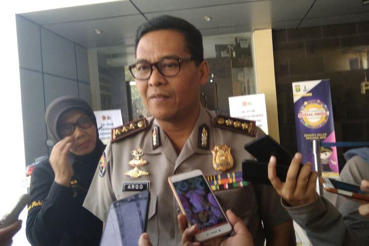 Kabid Humas Polda Metro Jaya Kombes Pol Argo Yuwono, Jakarta (31/5/2018)