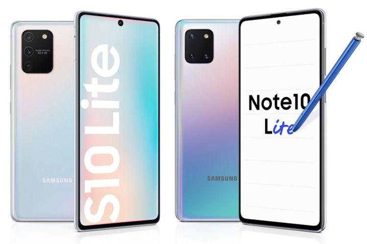Samsung Galaxy S10 Lite dan Galaxy Note 10 Lite