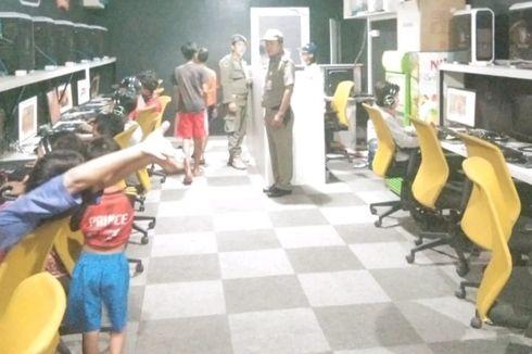 Cegah Penyebaran Corona, Satpol PP Padang Panggil Orangtua yang Anaknya Masih Main di Warnet