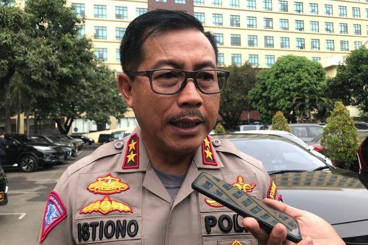 Kepala Korlantas Polri Irjen Istiono ketika ditemui di Mabes Polri, Jakarta Selatan, Kamis (12/12/2019).