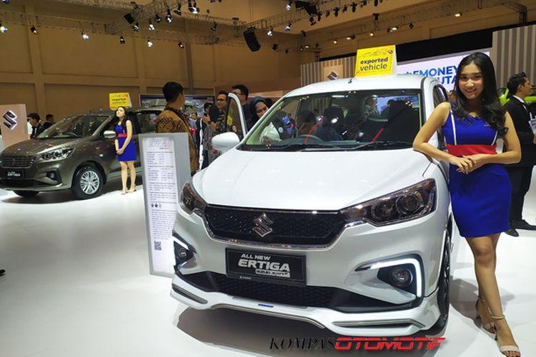 Ilustrasi Booth Suzuki di GIIAS 2019
